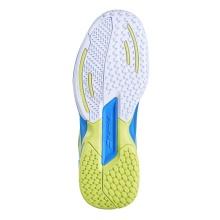 Babolat Jet blau/gelb Allcourt-Tennisschuhe Kinder