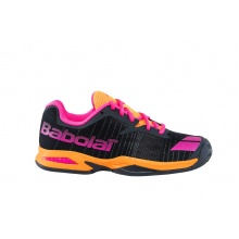 Babolat Jet grau/orange Allcourt-Tennisschuhe Kinder