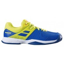 Babolat Pulsion Clay 2019 blau/gelb Tennisschuhe Kinder