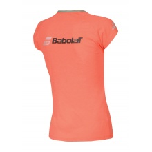 Babolat Shirt Core Logo 2018 fluorot Girls