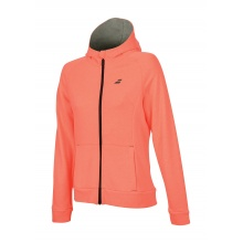 Babolat Hoodie Full Zip Core #18 fluorot Girls