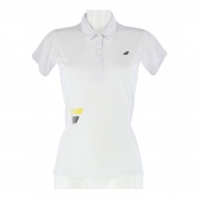Babolat Tennis-Polo Core Club #17 weiss Damen