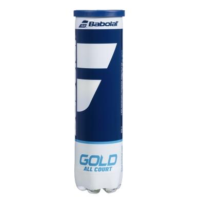Babolat Tennisbälle Gold Allcourt Dose 4er