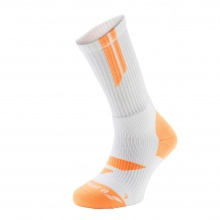 Babolat Tennissocke Team Big Logo 2017 weiss/orange Herren 1er