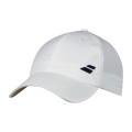 Babolat Cap Basic Logo 2018 weiss Herren