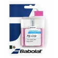 Babolat My Grip Overgrip 2015 3er weiss/rosa