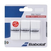 Babolat Pro Tacky Overgrip 3er weiss