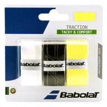 Babolat Traction Overgrip 3er sortiert
