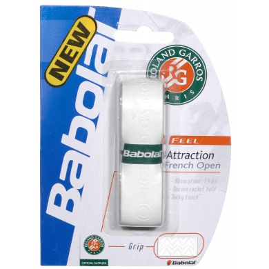 Babolat Attraction French Open Basisband weiss