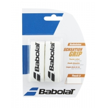 Babolat Sensation Badminton 1.6mm Basisband weiss 2er