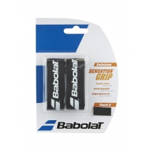 Babolat Basisband Sensation Badminton 1.6mm schwarz 2er