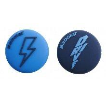 Babolat Schwingungsdämpfer Flash Damp blau/dunkelblau 2er