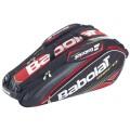Babolat Racketbag Aero 2014 schwarz/rot 9er