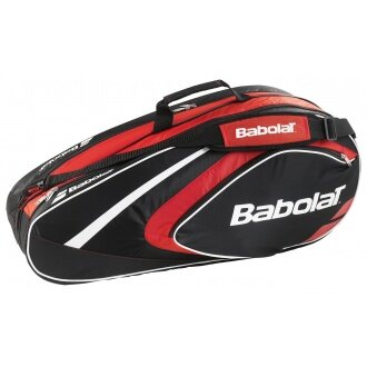 Babolat Racketbag Club 2015 rot/schwarz 6er