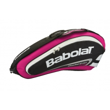 Babolat Racketbag Team Badminton 2015 rose/schwarz 4er
