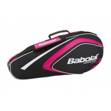 Babolat Racketbag Club Badminton 2015 rose/schwarz 4er
