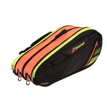 Babolat Racketbag Team Expandable 2018 schwarz/orange/gelb