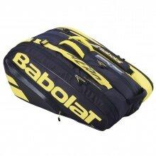 Babolat Racketbag (Schlägertasche) Pure Aero gelb/schwarz 12er - 3 Hauptfächer
