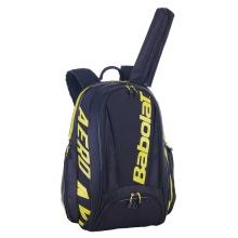 Babolat Rucksack Pure Aero 2021 schwarz mit Haupt- und Schlägerfach