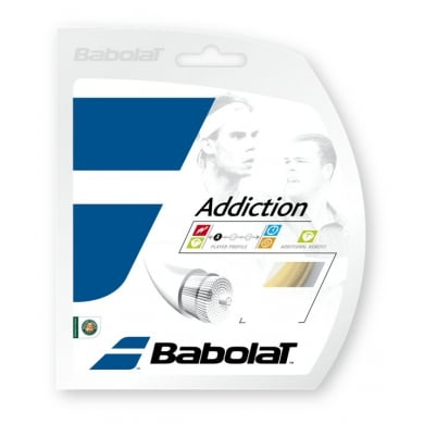 Besaitung mit Babolat Addiction