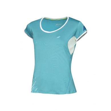 Babolat Shirt Performance 2016 petrol Damen