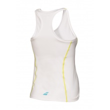 Babolat Tank Match Core CROP 2016 weiss Damen