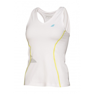 Babolat Tank Match Core CROP 2016 weiss Girls