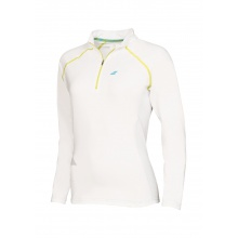 Babolat Longsleeve Match Core 1/2 ZIP 2016 weiss Damen