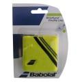 Babolat Schweissband Double Line gelb 2er