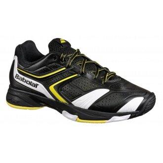 Babolat Drive 3 Allcourt schwarz/gelb Tennisschuhe Herren (Größe 46,5+49)
