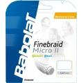 Babolat Finebraid 2 Micro weiss Badmintonsaite