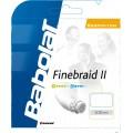 Babolat Finebraid 2 weiss Badmintonsaite