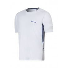 Babolat Tshirt Crew Neck Performance #16 weiss Herren