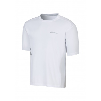 Babolat Tshirt Match Core FLAG 2016 weiss Herren