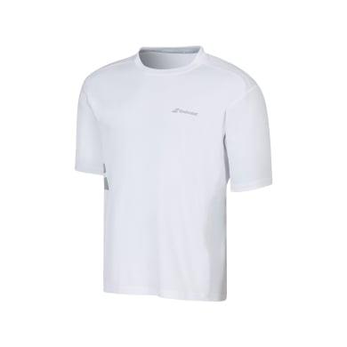 Babolat Tshirt Match Core FLAG 2016 weiss Boys