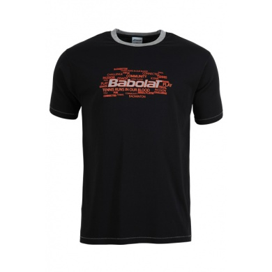 Babolat Tshirt Training Core 2015 anthrazit Boys