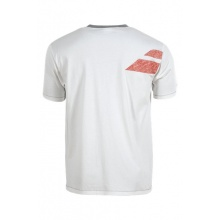 Babolat Tshirt Training Core 2015 weiss Herren