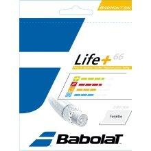 Babolat Life+ 66 gelb Badmintonsaite