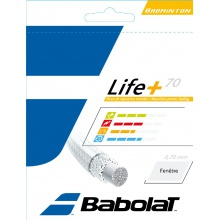 Babolat Life+ 70 gelb 200 Meter Rolle