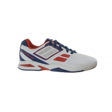 Babolat Propulse Team BPM INDOOR weiss Tennisschuhe Kinder