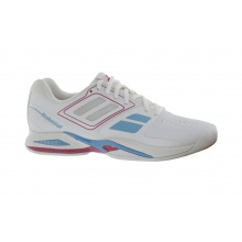 Babolat Propulse TEAM BPM INDOOR 2015 weiss Tennisschuhe Damen