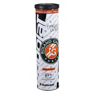 Babolat French Open Clay Court Tennisbälle 4er