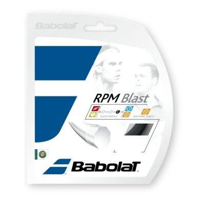 Babolat RPM Blast schwarz 12 Meter von der Rolle