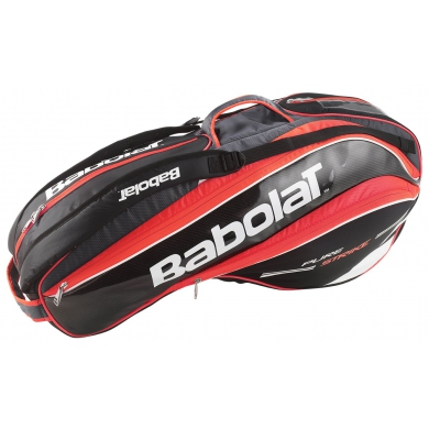 Babolat Racketbag Pure Strike 2015 rot/schwarz 6er