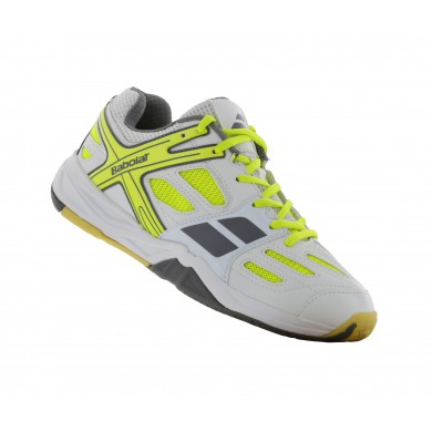 Babolat Shadow Club weiss Badmintonschuhe Junior