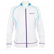 Babolat Sweatshirt Match Performance 2014 weiss Girls (Größe 128+152)