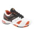 Babolat V Pro Allcourt 2 weiss/orange Tennisschuhe Kinder (Größe 32+37)