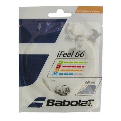 Babolat iFeel 66 weiss Badmintonsaite
