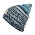 Djinns Beanie Berber Stripe weiss/blau