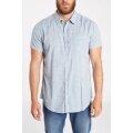 Billabong Freizeit-Hemd Faded graublau Herren